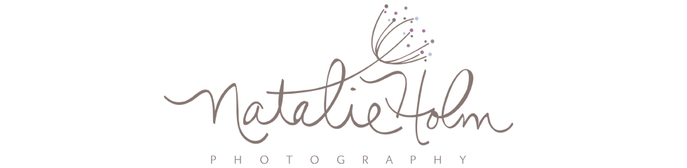 {Natalie Holm Photography} Custom Portraiture, Family, Children, Engagement, Maternity logo